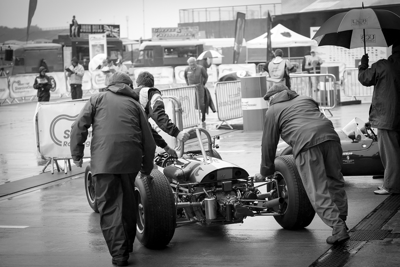 Brabham BT11 at Silverstone Classic