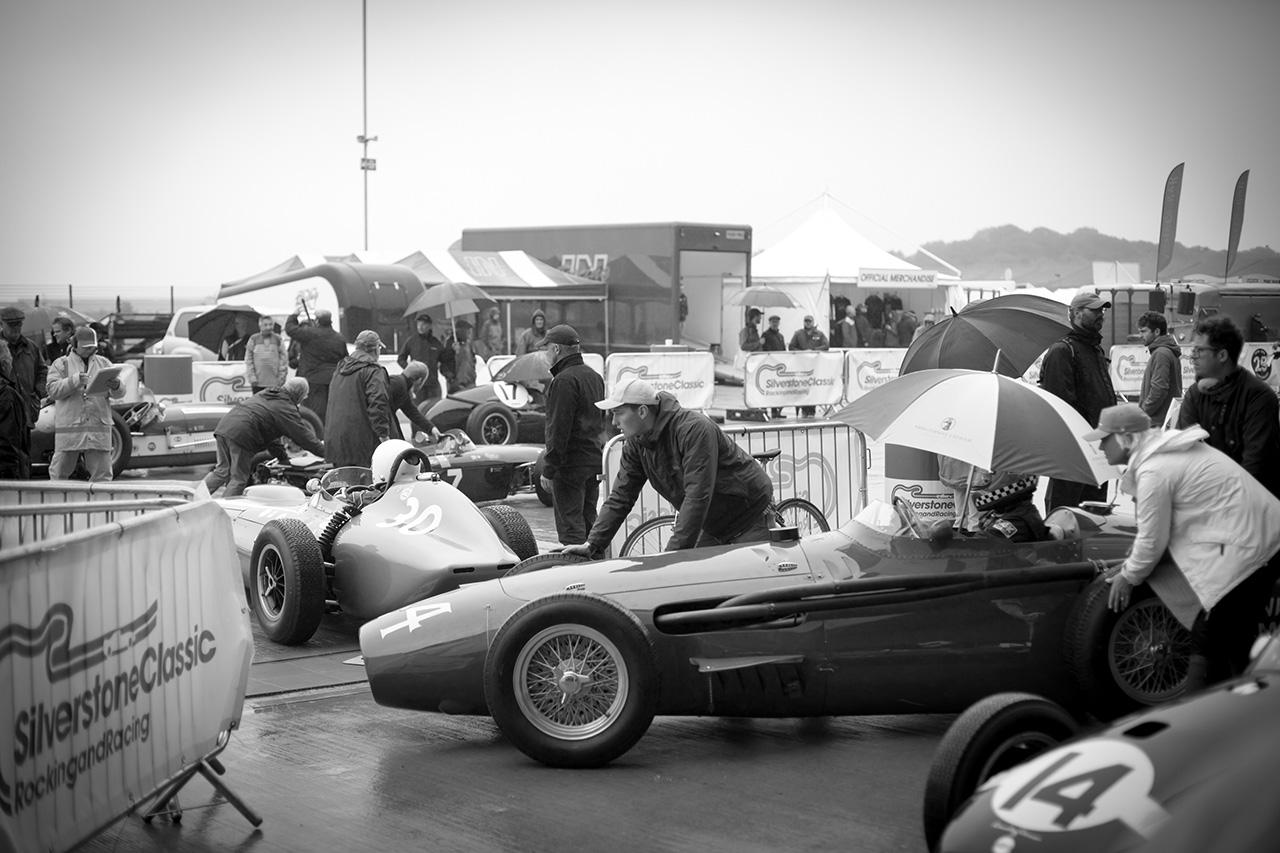 HGPCA Cars at Silverstone Classic